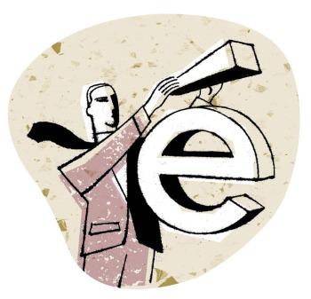Accented-E