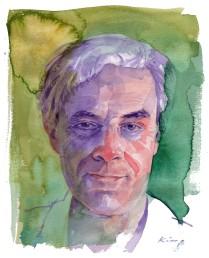 Self-portrait - Watercolour