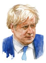 Boris Johnson - Watercolour