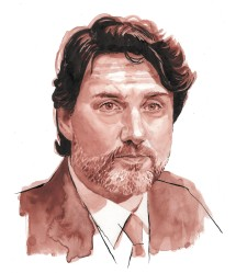 Justin Trudeau - Watercolour